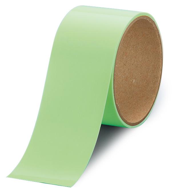 屋内の避難誘導 824−503 高輝度蓄光テープ 50mm巾×1M