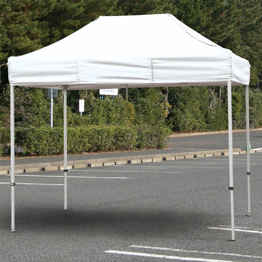 防災・訓練用品 835−604 クイックテント 4.8×2.4m ホワイト