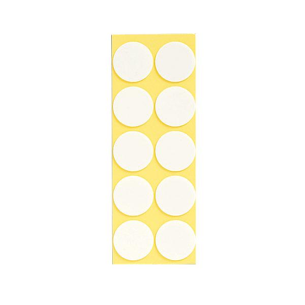 発泡両面テープ 863−362 丸型25径 100個1組