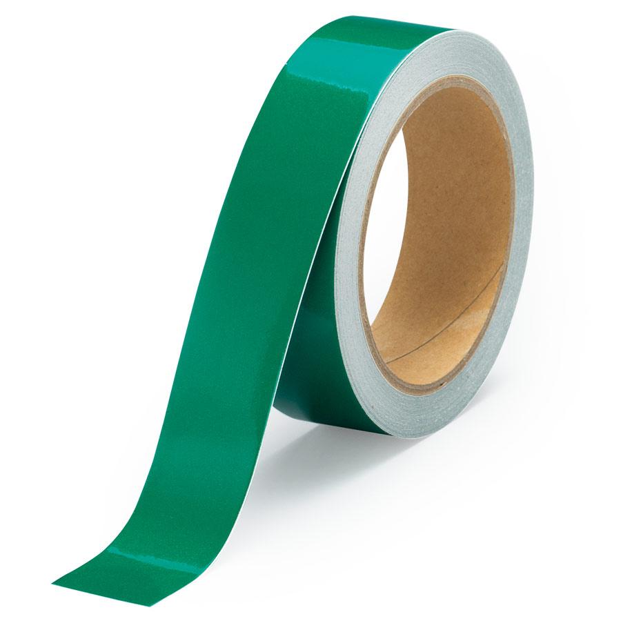 反射テープ 863−54 緑 30幅×10m