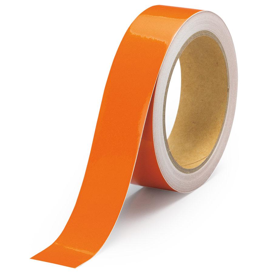 反射テープ 863−57 橙 30幅×10m