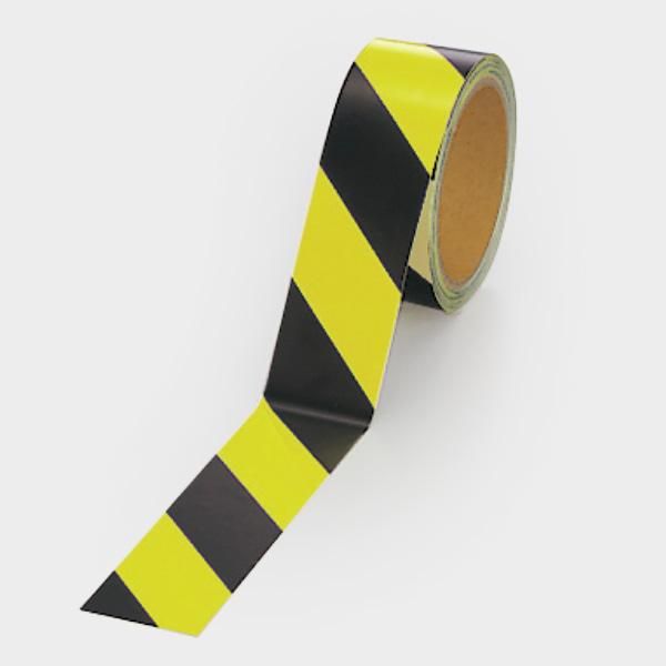 蛍光反射テープ 864−60 黄/黒 黄部反射