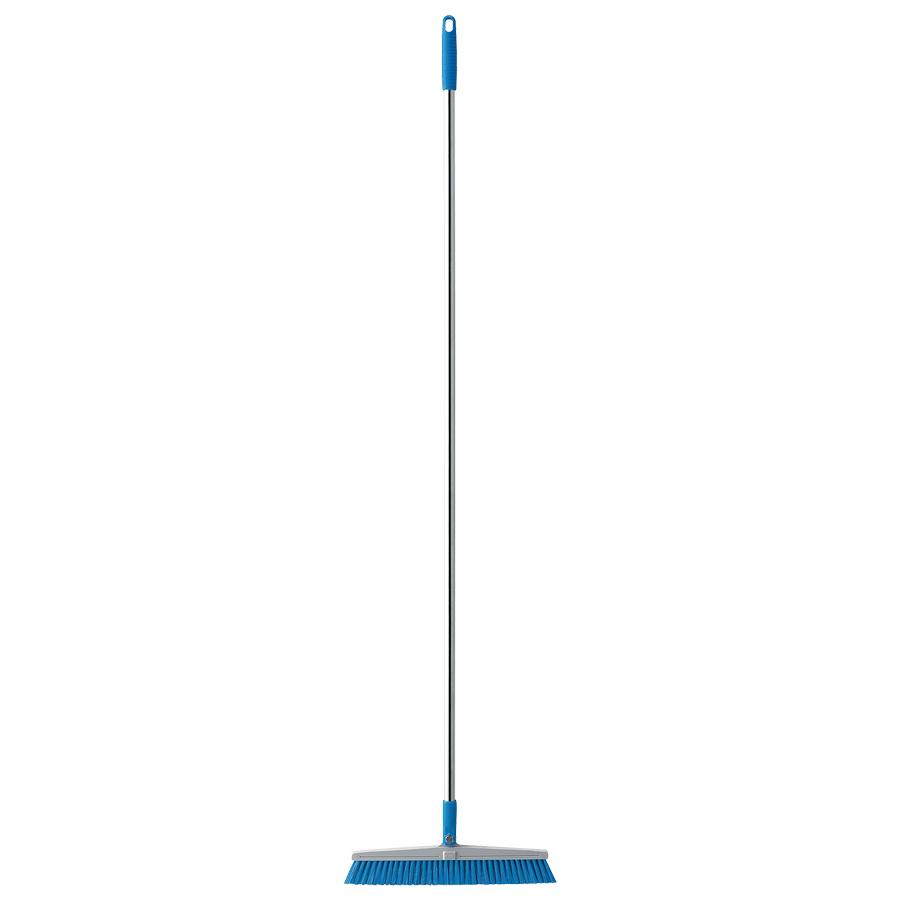 清掃用品 877−640 カラーほうき 青