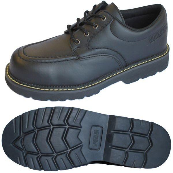 先芯入作業靴 ワークプラス MPW−10 ブラック