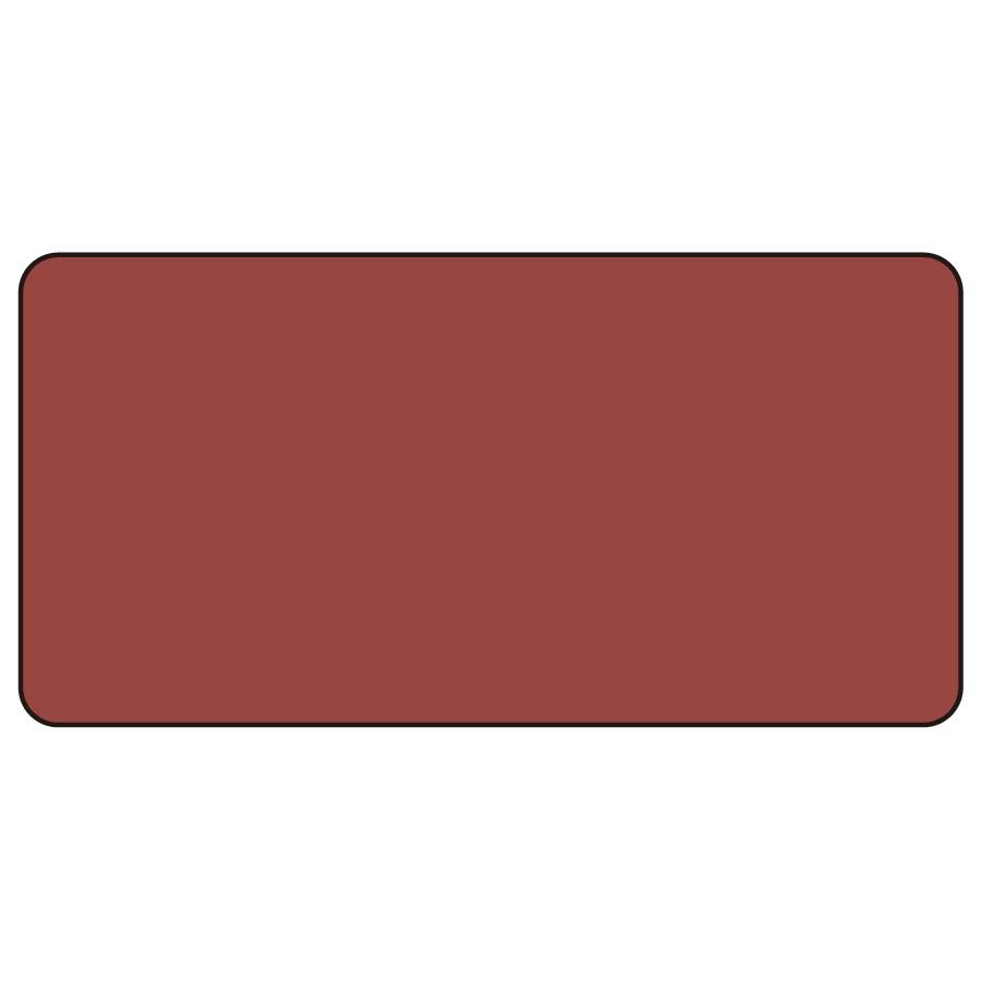 配管識別ステッカー AS−2−30S 暗い赤無地 小