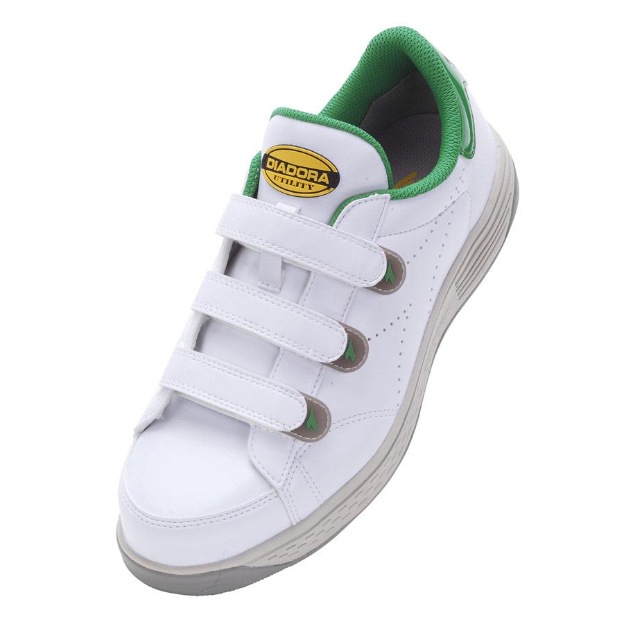 ディアドラ ケア KE−16 ホワイト/グリーン