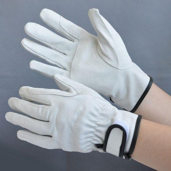 豚革手袋 マジックあて付き AG−527 Lサイズ