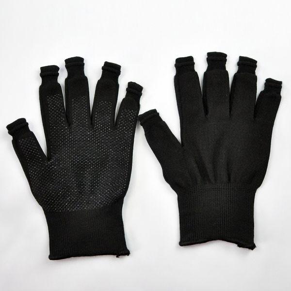 指先が使える! スライドタッチ手袋 Mサイズ ブラック