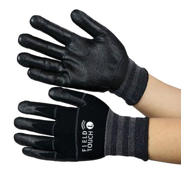 作業用 スマホ対応手袋 フィールドタッチ #553 L