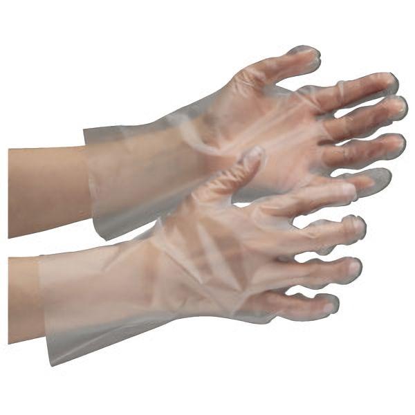 外エンボスポリエチぴったり手袋 ベルテ 573 M 100枚×1袋