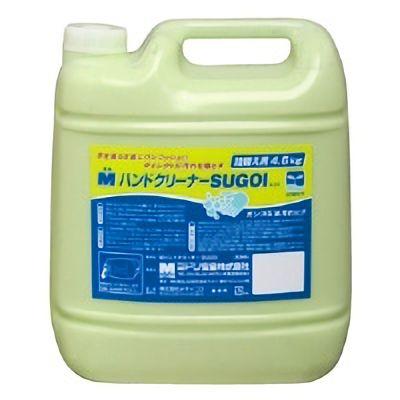 洗浄力アップ Mハンドクリーナー SUGOI 詰替用(減容容器)4.6kg