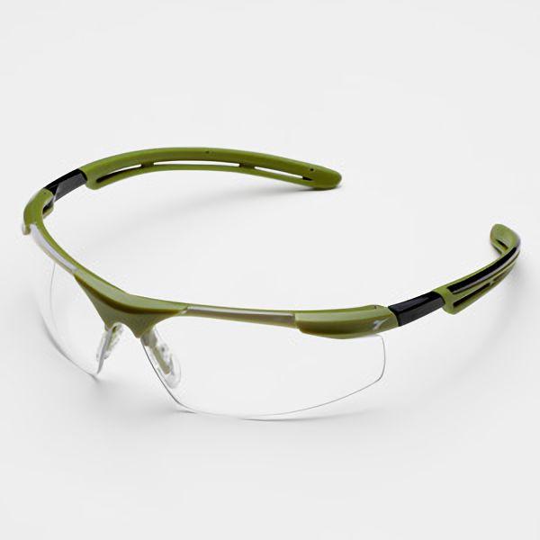 ディアドラ 保護メガネ フェザント PH−62C グリーン クリア