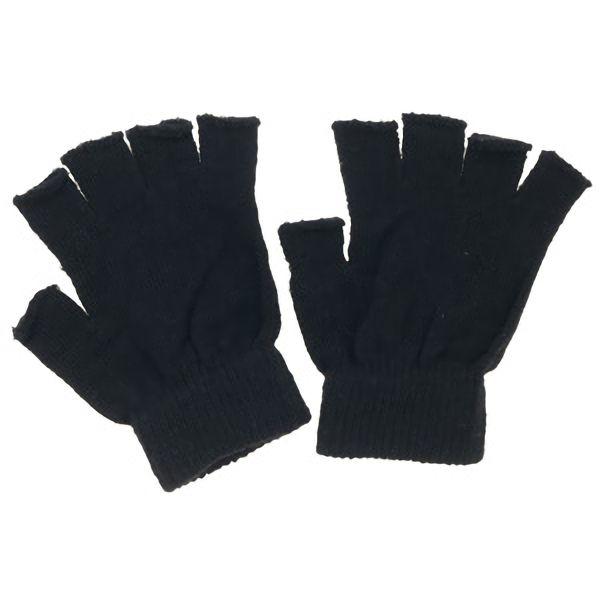 のびのび指切手袋 FT−3125 黒