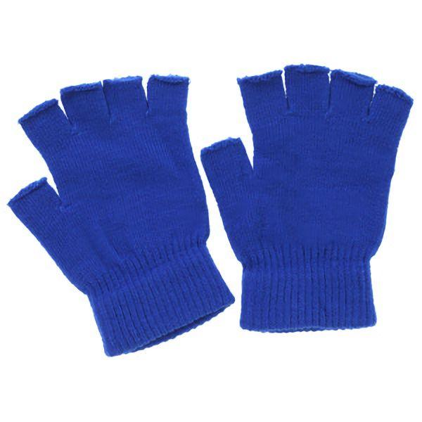 のびのび指切手袋 FT−3125 ブルー