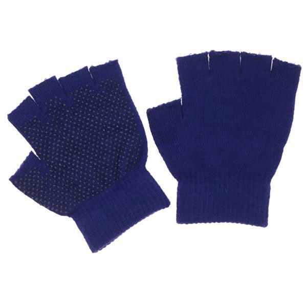 のびのび指切手袋 スベリ止め付 FT−3135 紺