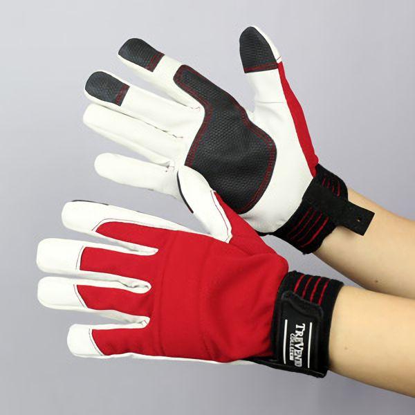 作業手袋 A級 豚甲メリマジック TVC−301 赤 S