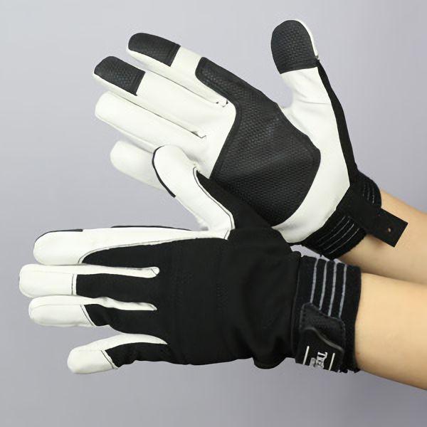 作業手袋 A級 豚甲メリマジック TVC−301 黒 M