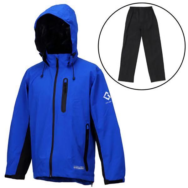 ストレッチレインウェア アクロスレイン AG−8000 ブルー M