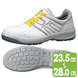 安全靴 G3590 静電 (ひもタイプ) ホワイト