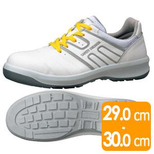 安全靴 G3590 静電 (ひもタイプ) ホワイト 大