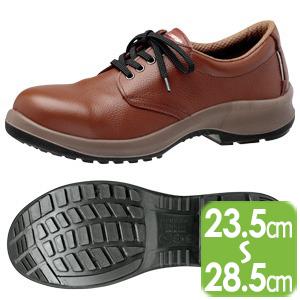 安全靴 プレミアムコンフォート PRM210 ブラウン
