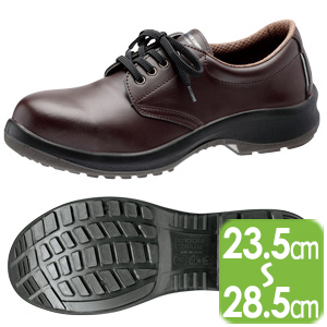 耐油・耐薬品仕様安全靴 プレミアムコンフォート PRM210NT ダークブラウン