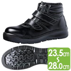 雪上でも滑りにくい耐滑安全靴 オールラウンダー ARD225N ブラック