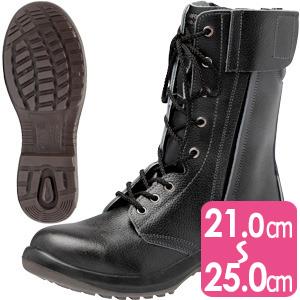 安全靴 プレミアムコンフォート LPM230F オールハトメ ブラック