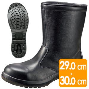 安全靴 プレミアムコンフォート PRM240 ブラック 大