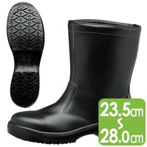 静電超耐滑底安全靴 ハイグリップセフティ・半長靴 HGS540 静電 ブラック