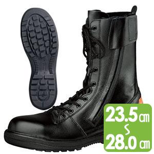 消防仕様 静電安全靴 RT731F 消防P−4 静電 ブラック
