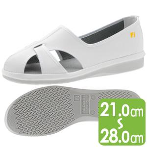 男女兼用 静電作業靴 PS−01S ホワイト