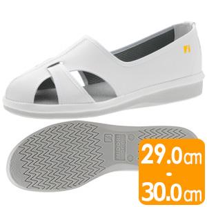 男女兼用 静電作業靴 PS−01S ホワイト 大
