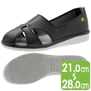 男女兼用 静電作業靴 PS−01S ブラック