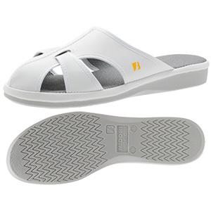 男女兼用 静電作業靴 PS−01ライトS ホワイト