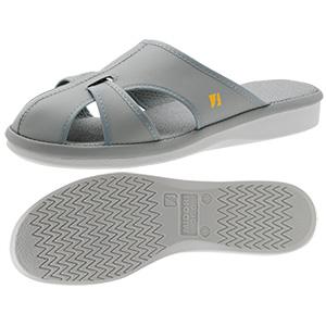 男女兼用 静電作業靴 PS−01ライトS グレー