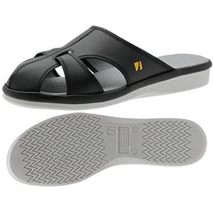 男女兼用 静電作業靴 PS−01ライトS ブラック