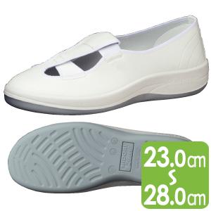 男女兼用 静電作業靴 エレパス SU402 ホワイト