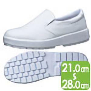 超耐滑軽量作業靴 HRS−480 ホワイト