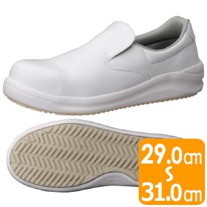 先芯入り超耐滑作業靴 ハイグリップスーパー NHS−600 ホワイト 大