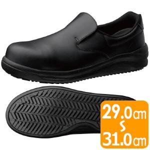 先芯入り超耐滑作業靴 ハイグリップスーパー NHS−600 ブラック 大