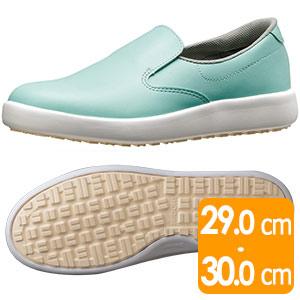 超耐滑軽量作業靴 ハイグリップ H−700N グリーン 大