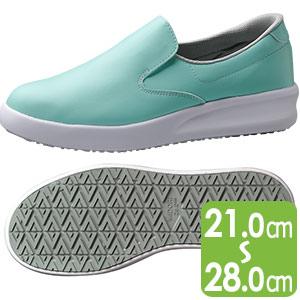 超耐滑作業靴 ハイグリップ・ザ・フォース NHF−700 グリーン