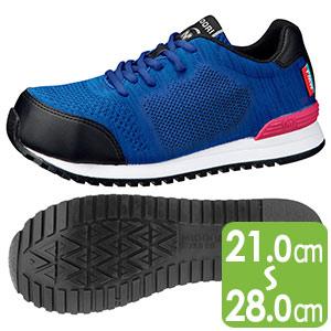 ワーク女子力作業靴 MWJ−710 ブルー