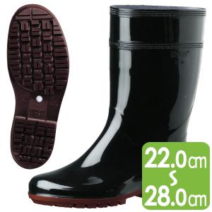 耐滑抗菌長靴 ハイグリップ HG2000Nスーパー ブラック