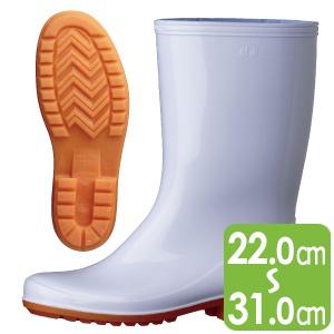 作業長靴 ワークエース W2100 ホワイト
