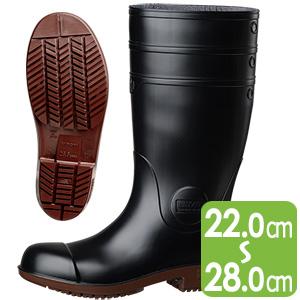 超耐滑安全長靴 NHG1000スーパー ブラック
