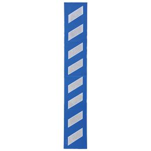 プリズムクッション 304−321 青地白高輝度反射2m