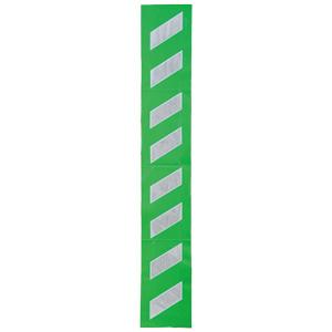 プリズムクッション 304−331 緑地白高輝度反射2m