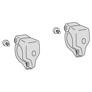 トークナビ穴開きクランプ 305−514 2個組